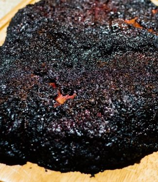 Hot and fast BBQ brisket is cooked at 300F for about 6-8 hours. This recipe works with the flat and delivers a juicy brisket if done right.