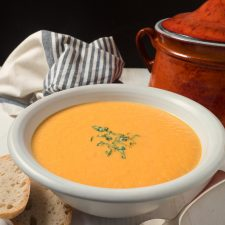 Curried carrot soup for when you want a little bit of exotic at your dinner party.