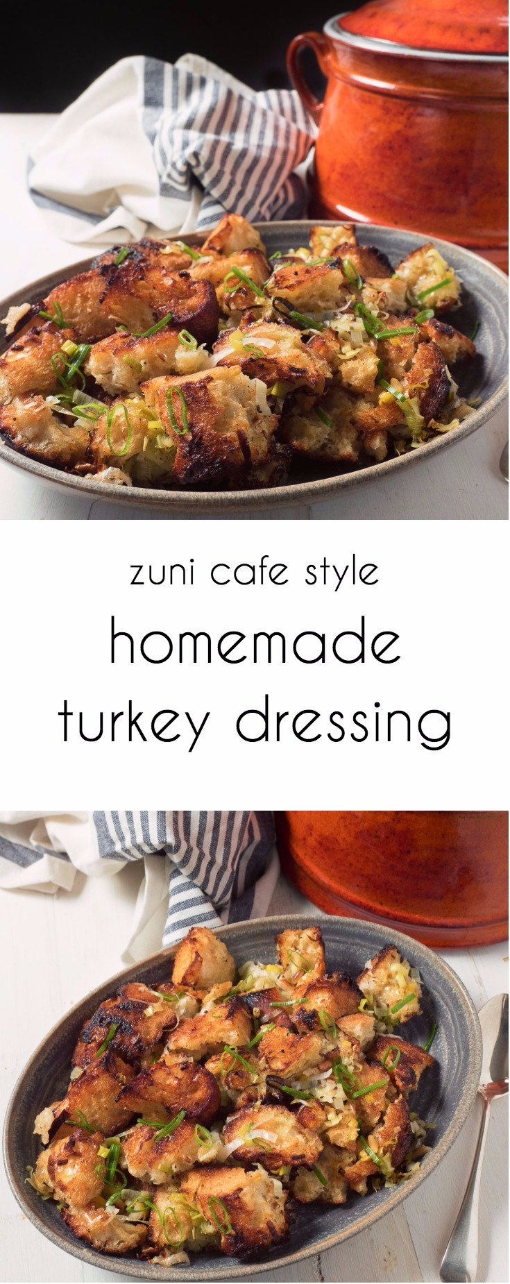Homemade turkey dressing done right. You won't miss stuffing ever again.