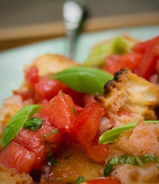 panzanella tuscan bread salad