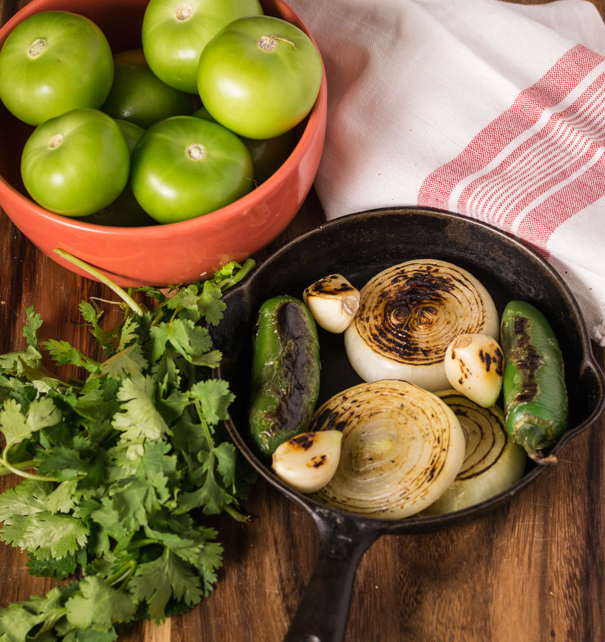 This tomatillo salsa is an ideal base for more complex sauces. Use it with roasted chicken or poultry or as the backbone of a good pork chili.