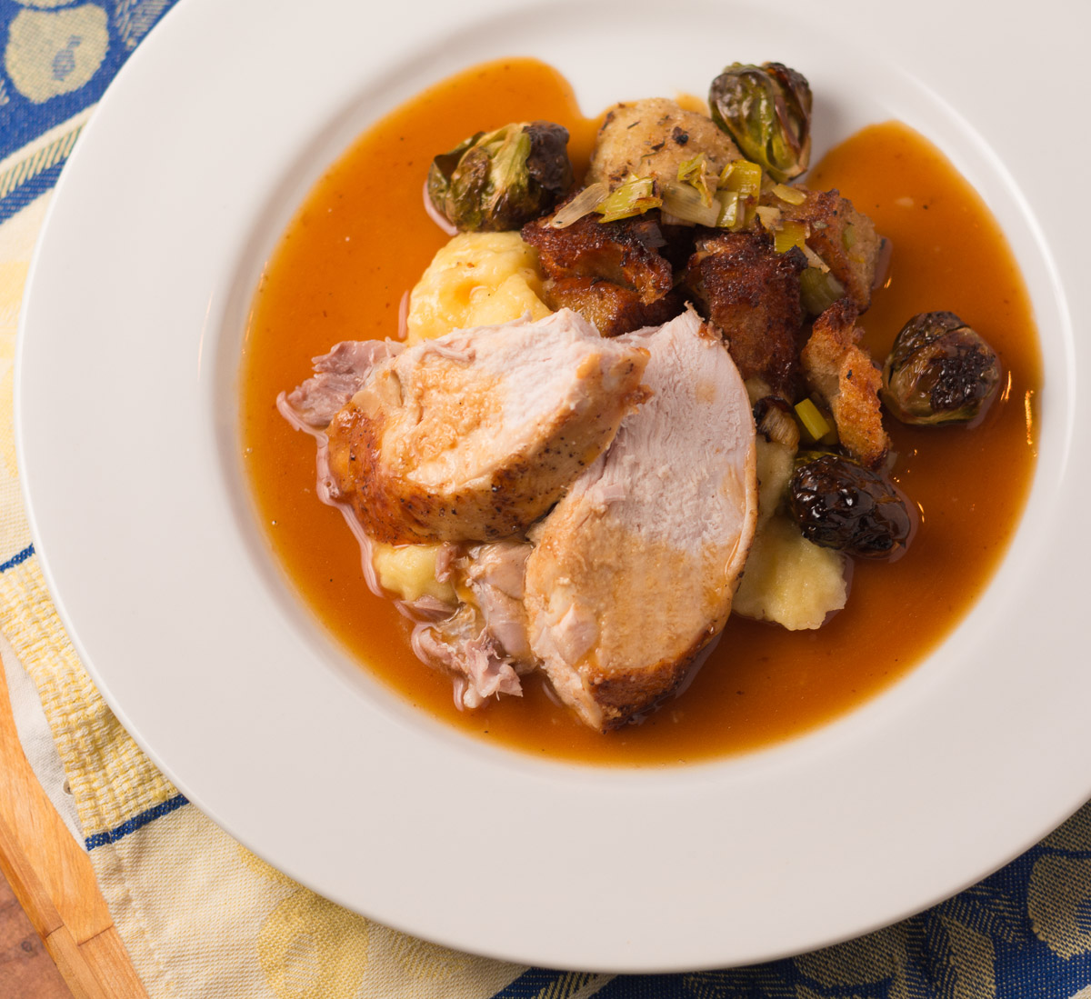 Why kill yourself making things nobody really wants to eat. Instead, focus on making a few elements of your holiday turkey dinner perfect.