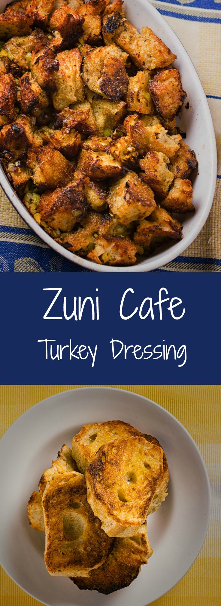 The best turkey dressing Zuni Cafe style