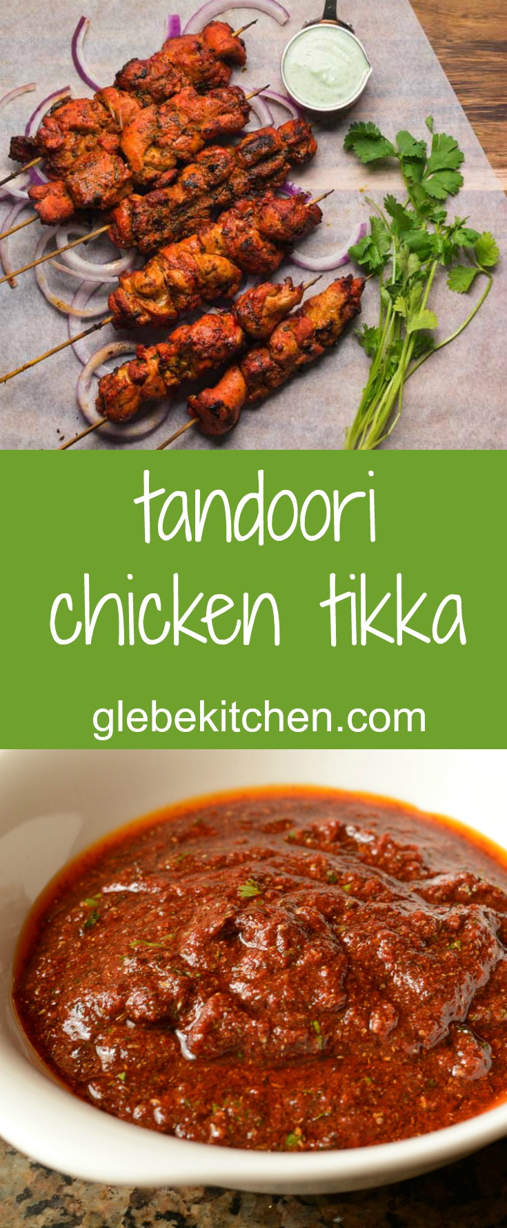 Chicken tikka are little tandoori flavour bombs. Marinate the chicken, skewer and grill and you have a great starter to any Indian meals.