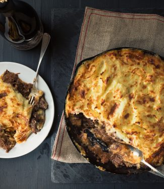 Hachis parmentier elevates shepherd's pie into something wonderful.