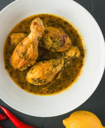 lemon coriander chicken curry
