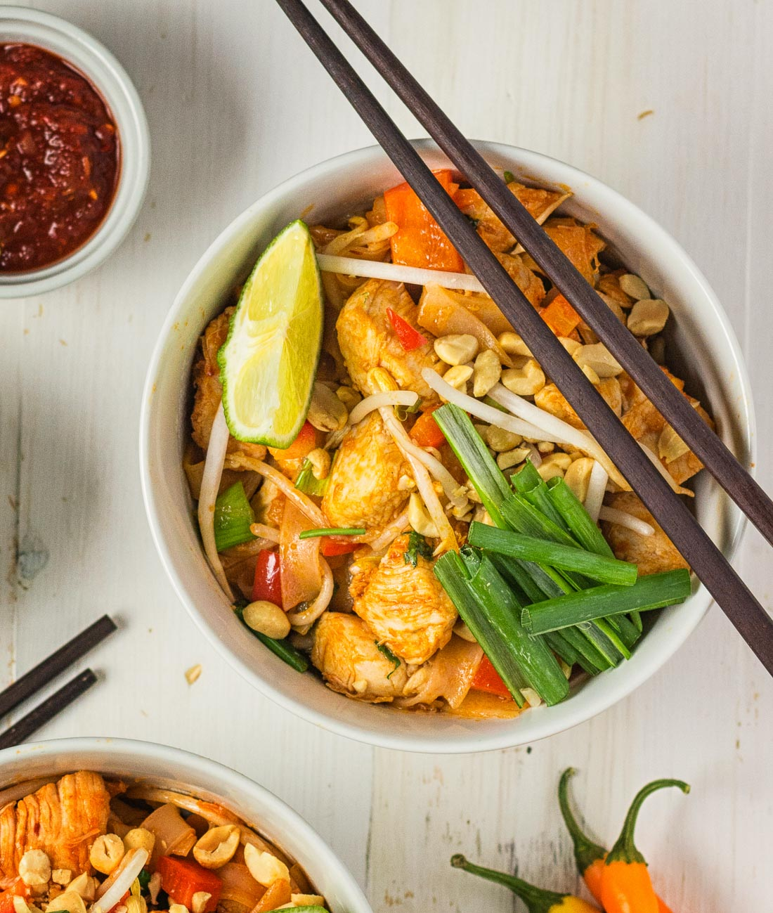 A simpler pad thai makes a delicious weeknight meal.