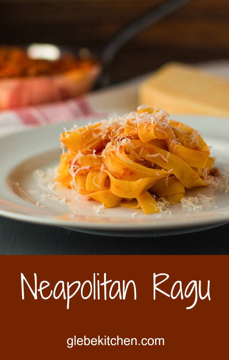 Neapolitan ragu is a lighter alternative the the usual bolognese.