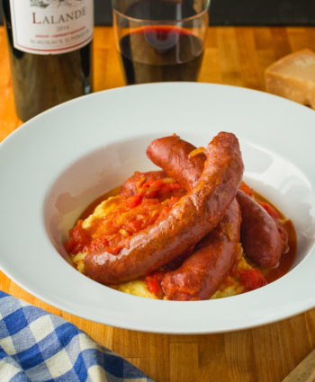 sausage with peppers