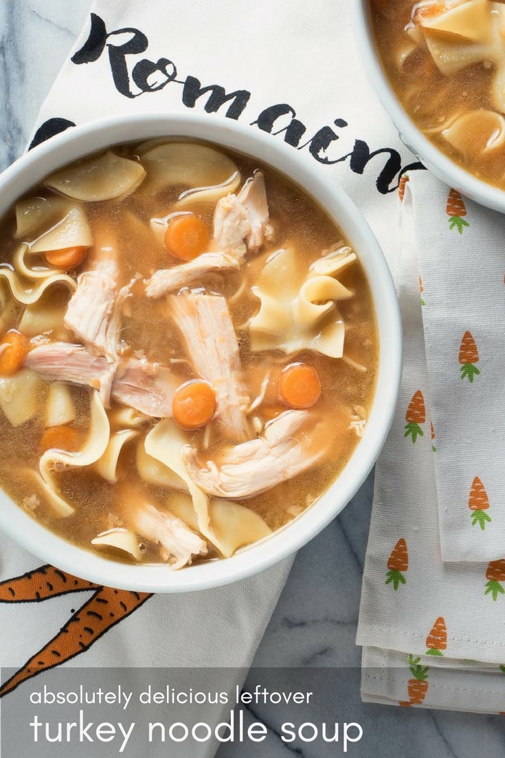 Amazing mouthfeel makes this turkey noodle soup the best thing you can do with your leftovers.