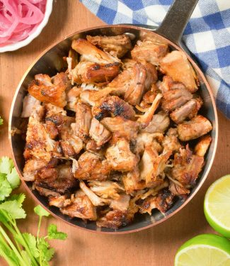 These crispy pork carnitas are as close as you are going to get without a plane ticket to Mexico.