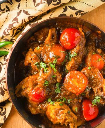 indian restaurant lamb curry