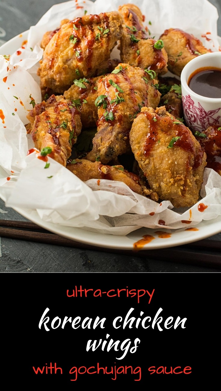 These ultra-crispy Korean chicken wings will the a smash hit at any party.