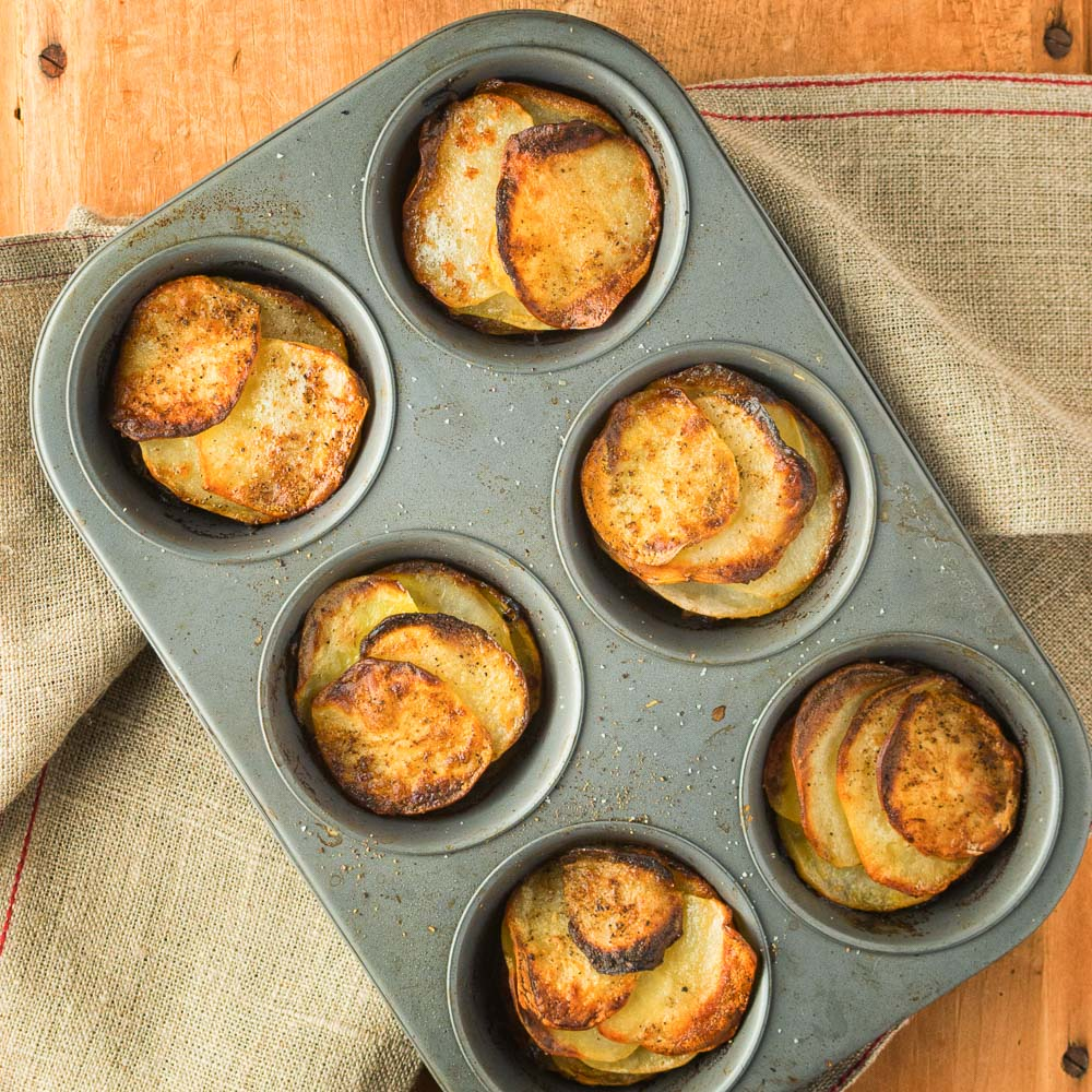 Potato galettes are a great addition to your side dish repertoire.