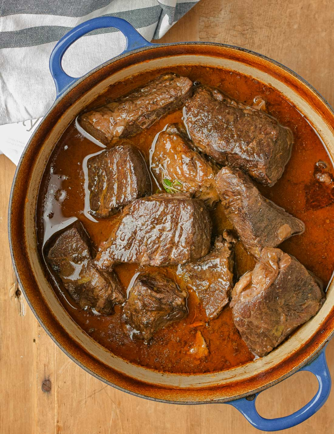 There's something unbelievably satisfying about braised short ribs. Brown them deeply, add wine, stock and a few aromatics and serve a spectacular dinner.