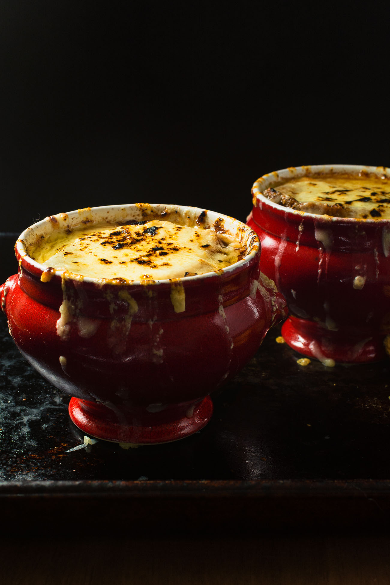 Classic French onion soup is like a hug in a bowl.