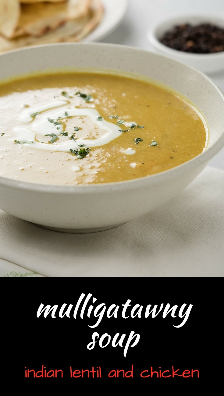 Mulligatawny soup is a fantastic Indian lentil soup perfect for any meal.