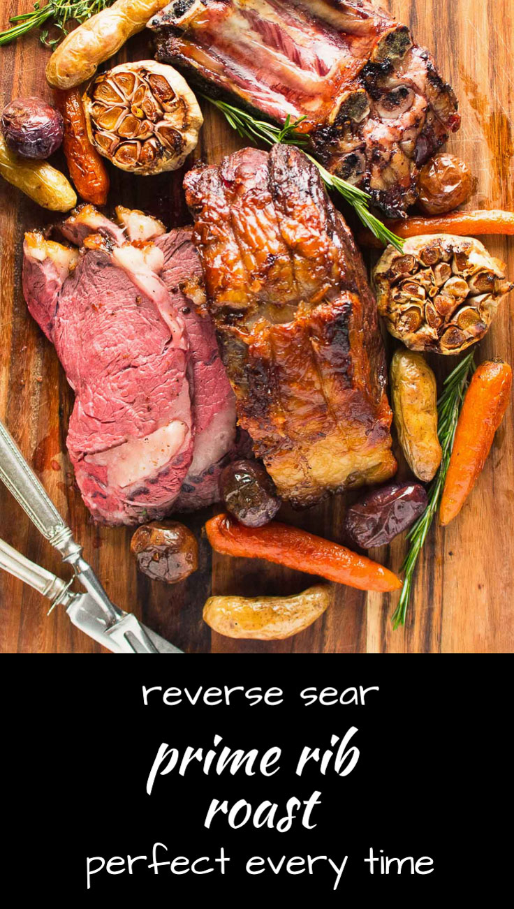 Reverse sear your beef prime rib roast for perfect results every time.
