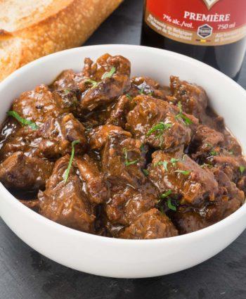 beef and beer stew – carbonnade a la flamande