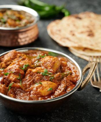 indian restaurant dopiaza curry