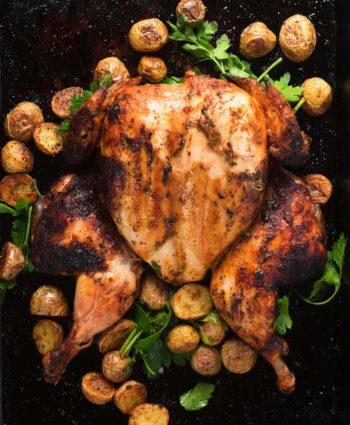 portuguese chicken – piri  piri grilled chicken