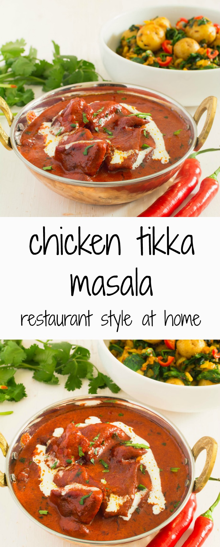 chicken tikka masala is pretty straightforward and follows the indian