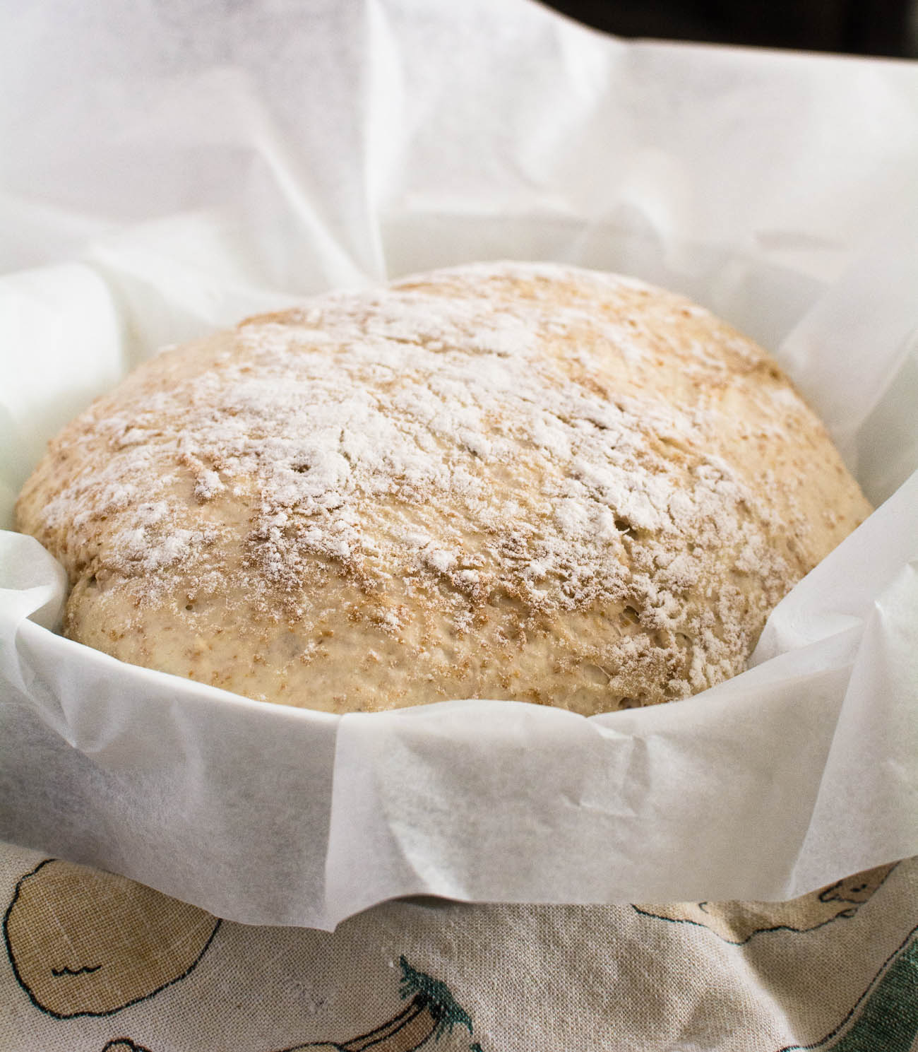 Dutch oven no-knead bread is a great way to get into making bread at home.