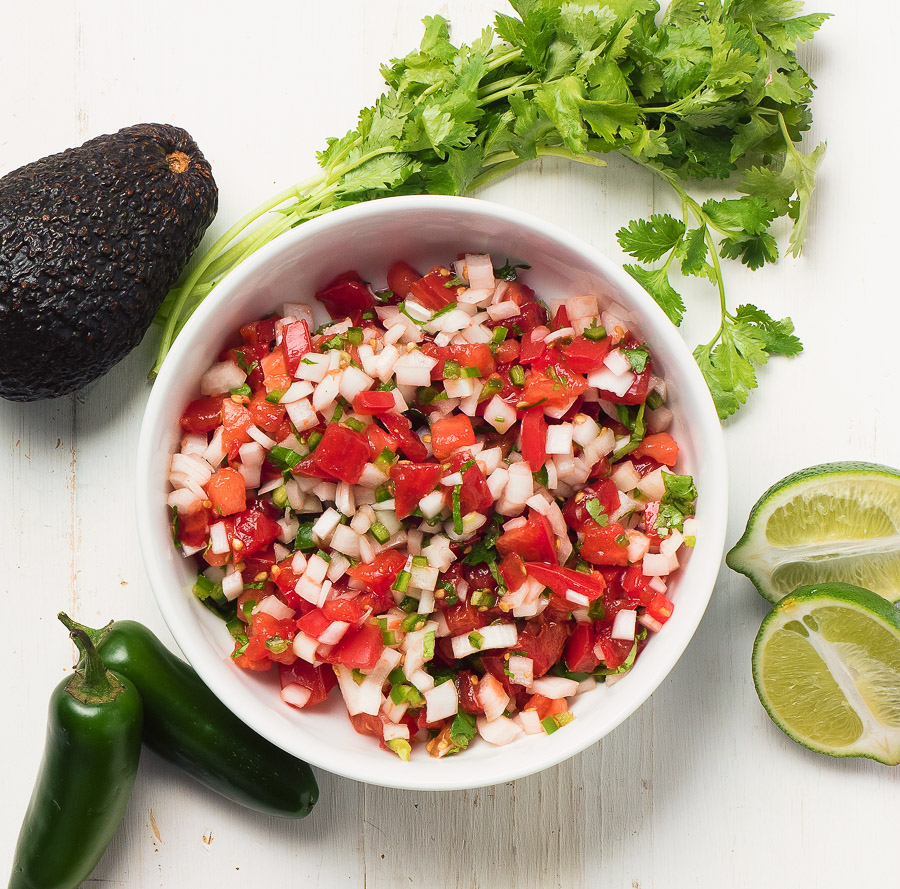 Two simple tricks to make a better pico de gallo.