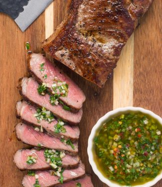 Try steak with chimichurri sauce when you need to break out of your grilling rut.