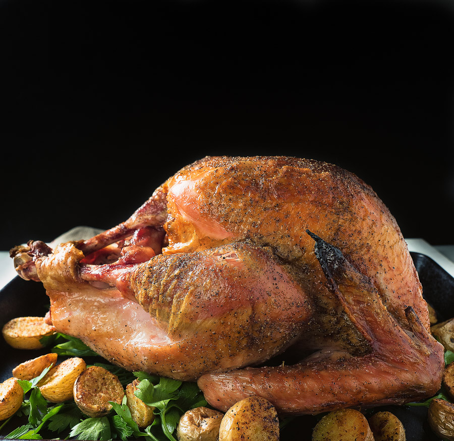 grill roasted turkey - glebe kitchen