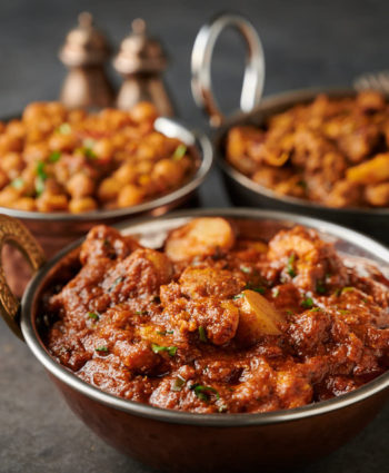 restaurant style aloo chaat chicken curry
