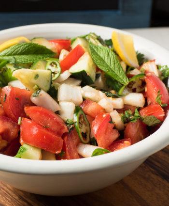 kachumber – indian tomato and cucumber salad