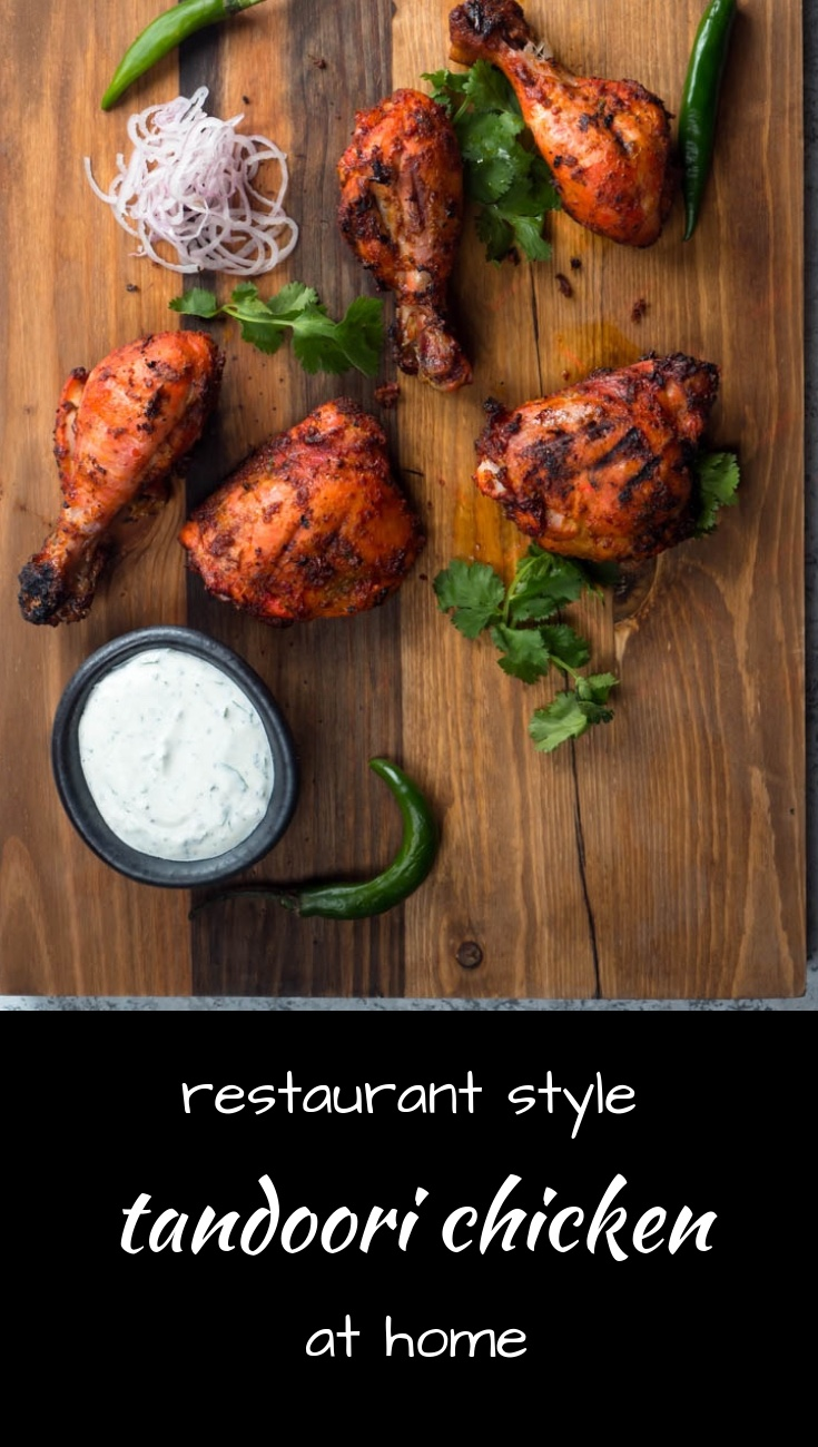 Perfect tandoori chicken every time.