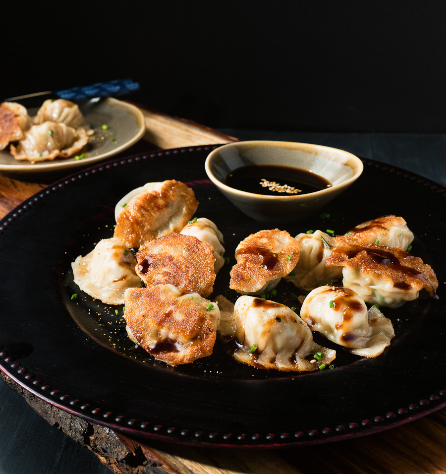 Japanese gyoza or potstickers are a great start to any meal.