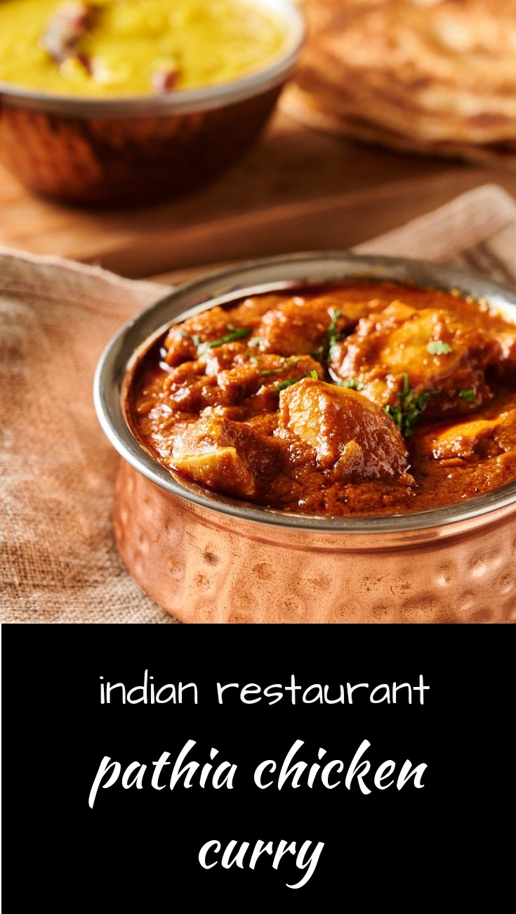 Restaurant style pathia curry brings together hot, sweet and sour in a classic Indian dish
