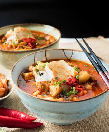 korean pork stew – kimchi jjigae