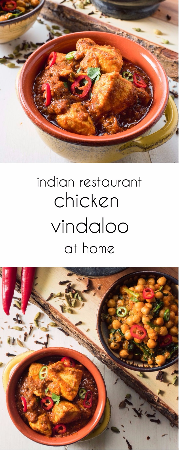 Indian restaurant vindaloo curry is a hot and sour curry that can be as fiery as you want.