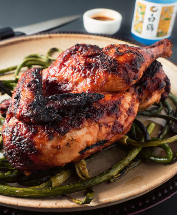 garlic ginger grilled chicken