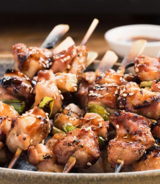 Japanese grilled chicken yakitori skewers are a delicious addition to your grilling arsenal.