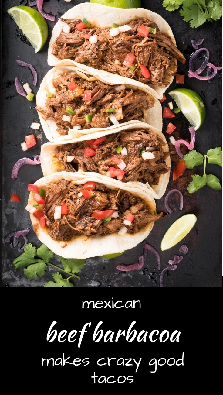 This beef barbacoa is better than your local taqueria. These are crazy good tacos.