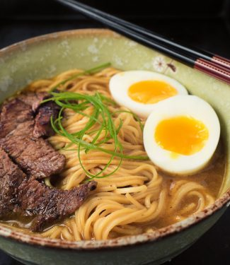 You can get your curry ramen fix in under 30 minutes.