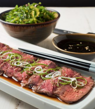 Sous vide beef tataki is how the pros make your steak perfect every time.