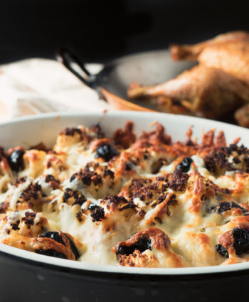 roasted cauliflower gratin