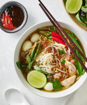 authentic pho ga – vietnamese chicken noodle soup