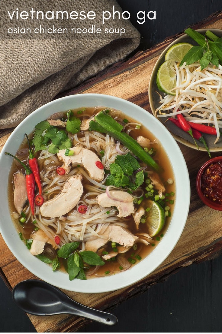 Authentic pho ga is the ultimate Vietnamese chicken noodle soup