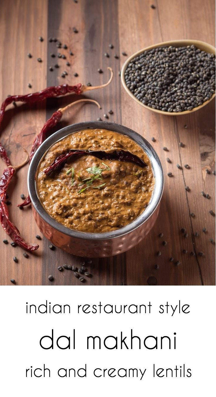 Restaurant style punjabi dal makhani is rich and buttery. Just the way they serve it in your favourite Indian restaurant.