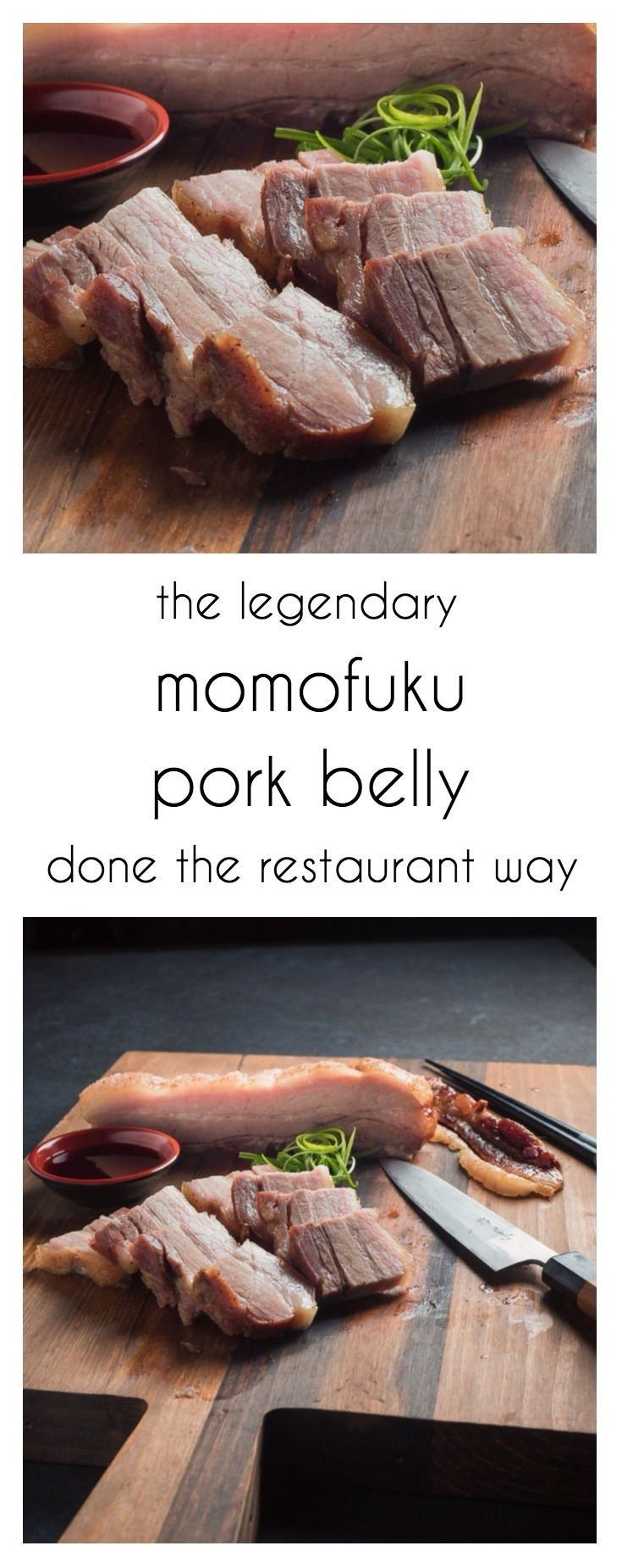 This is how you make momofuku pork belly like they do in the restaurant.