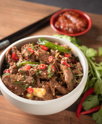 ginger beef stir fry – with a vietnamese twist