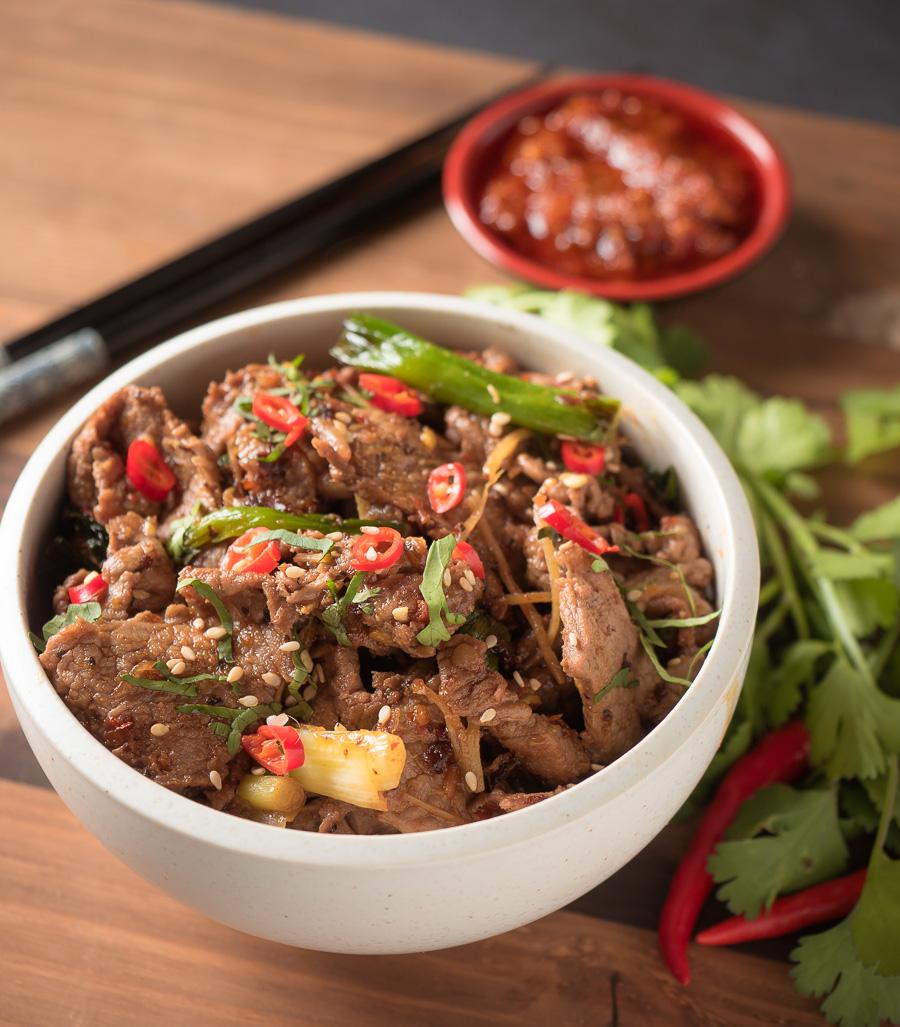 Ginger Beef Stir Fry With A Vietnamese Twist Glebe Kitchen