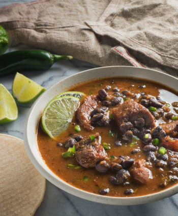 mexican pork and black bean stew